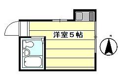 新井薬師前駅 4.5万円