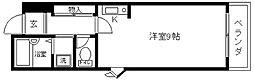 フレックスマンション[407号室]の間取り