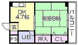 副島ビル[3階]の間取り