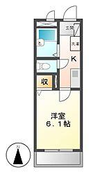 メゾンドティファニー[3階]の間取り