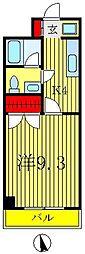 東豊マンション[2階]の間取り