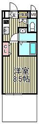 アゼリア鎌倉B[1階]の間取り
