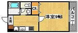 Friends24(フレンズ24)[B102号室]の間取り
