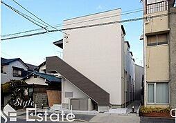 愛知県名古屋市南区道徳新町9の賃貸アパートの外観