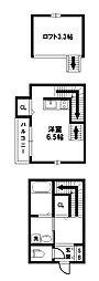 NEXSTAGE姫島[1階]の間取り