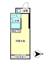 丸宏マンション[4階]の間取り