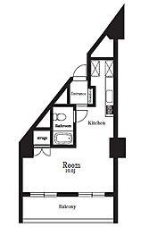 東十条マンション[0620号室]の間取り