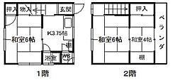 広島県呉市広古新開5丁目の賃貸アパートの間取り