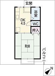 グリーンサテライト[2階]の間取り