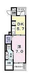 カシータ テラス 湘南[3階]の間取り