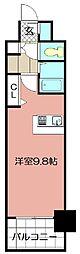 No.65 クロッシングタワーORIENT BLD.[8階]の間取り