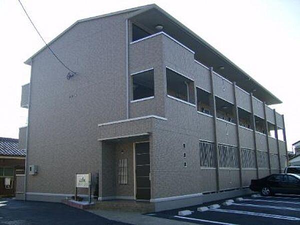 埼玉県本庄市けや木1丁目の賃貸アパートの外観