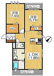 仮称堺市堺区シャーメゾン南丸保園[3階]の間取り