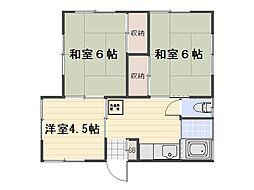 [一戸建] 神奈川県横須賀市ハイランド2丁目 の賃貸【/】の間取り