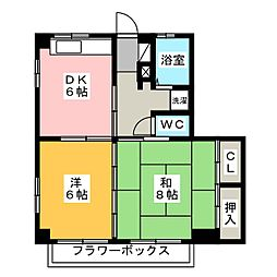 メゾンHero[1階]の間取り