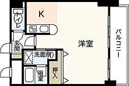 ヒルサイドこいとう坂[6階]の間取り