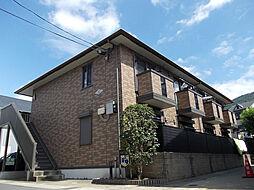 京都府京都市山科区大宅坂ノ辻町の賃貸アパートの外観