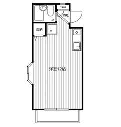 第5野本ビル[2階]の間取り