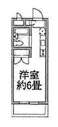 ラジオン連光寺[3階]の間取り