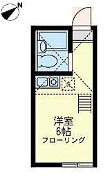 ユナイト 小田バーナード・キャッスル[2階]の間取り