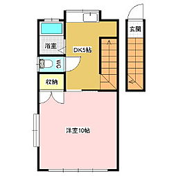 稼ぐ家姫Y2[2階]の間取り
