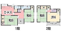 [一戸建] 兵庫県姫路市西今宿6丁目 の賃貸【/】の間取り