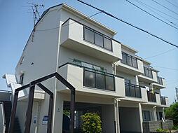 ハイツ上野芝I号館[3階]の外観