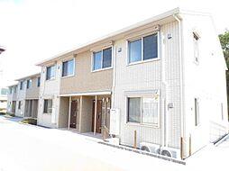 広島県東広島市八本松町米満の賃貸アパートの外観