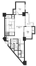 東十条マンション[8階]の間取り