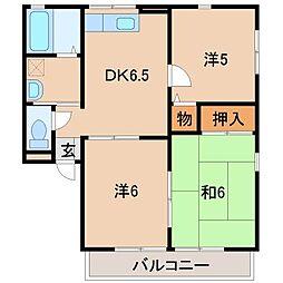 アーバンハイム[2階]の間取り