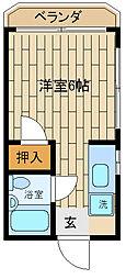 本宮マンション[3階]の間取り