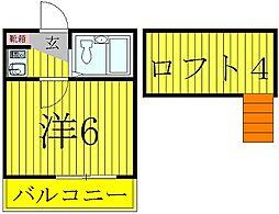 柏レジデンシャル第7[1階]の間取り