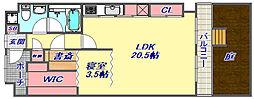 魚崎レックスマンション2号棟[1階]の間取り
