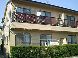 岡山県岡山市北区大安寺南町1丁目の賃貸アパートの外観