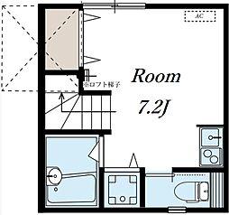コーラル[2階]の間取り
