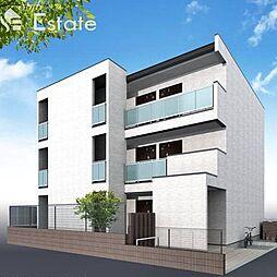 愛知県名古屋市中川区百船町の賃貸マンションの外観
