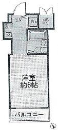 シルフィード相武台[4階]の間取り