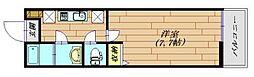 LaLuce[1階]の間取り