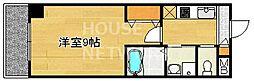 グランレブリー一乗寺[506号室号室]の間取り