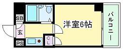 グランメール苅田[5階]の間取り