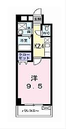 ノーブル・コーケ・横浜[6階]の間取り