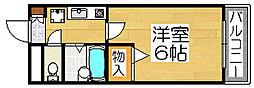 メゾンプチット[2階]の間取り