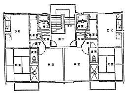 ローゼンハイム[1階]の間取り