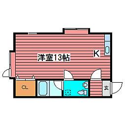 サンピアFUKUZUMI[2階]の間取り