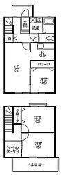 [テラスハウス] 静岡県浜松市南区三島町 の賃貸【/】の間取り