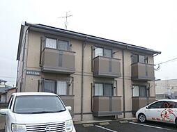 長崎県諫早市高来町三部壱の賃貸アパートの外観