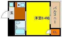 サニーサイド吉田駅前の間取り