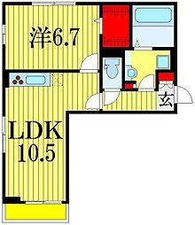 ヒル クレスト[2階]の間取り