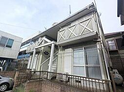 千葉県富里市日吉台5丁目の賃貸アパートの外観