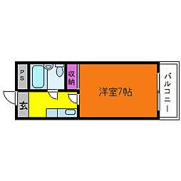 アレグリアプレイス神崎川[3階]の間取り